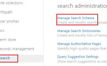 create a new managed property SharePoint 2013