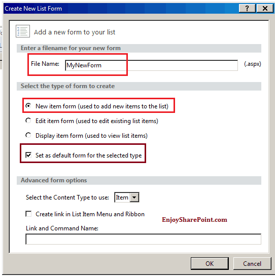 Customize sharepoint 2013 list form using sharepoint designer 2013