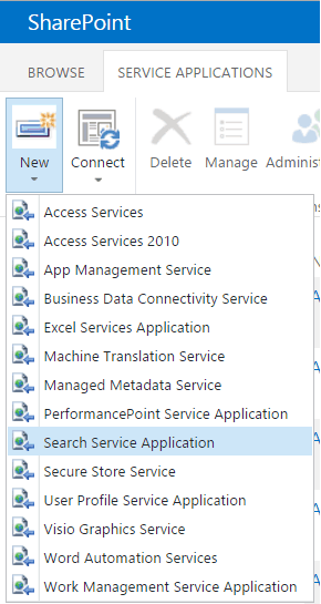 configure search in sharepoint 2013
