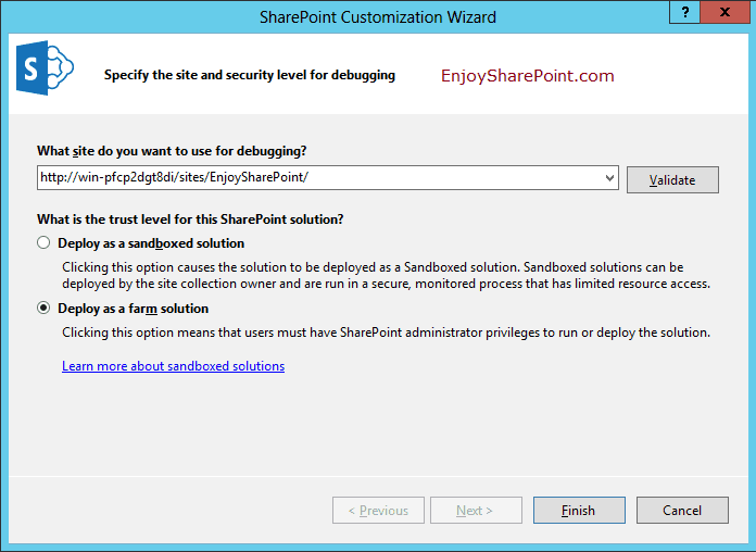 sharepoint 2013 create web part page