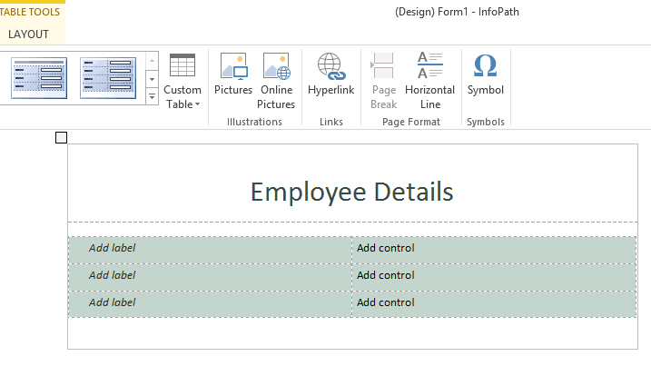 how to publish infopath form in sharepoint 2013