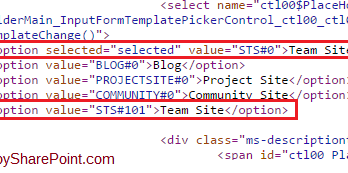 SharePoint 2013 Issue Team Site appearing two times in Collaboration tab while creating sub site