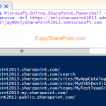 How to Set up your SharePoint 2013 Online Management Shell to connect to SharePoint online sites?