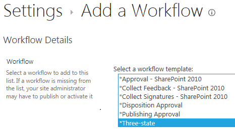 Not able to see all out of box workflows in SharePoint 2016 Online Sites