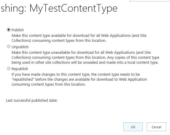 content type hub
