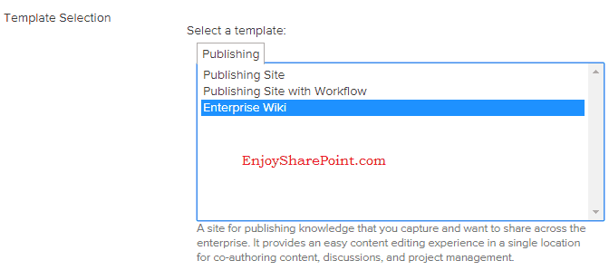 Unable to see all site templates category in Template Selection while creating sub site in SharePoint 2013