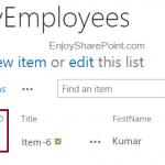 Reset List Item ID in SharePoint 2019 List