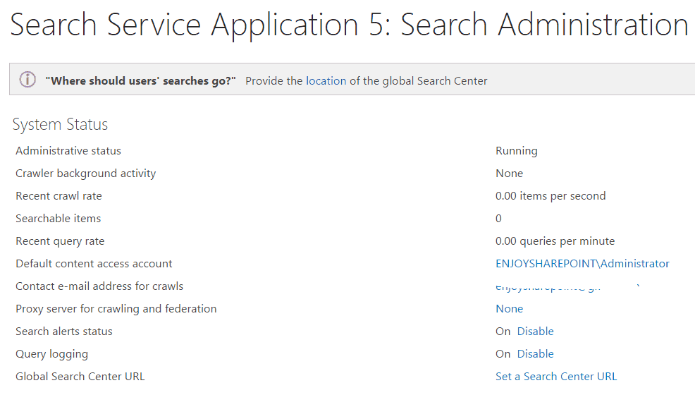 configure search service application sharepoint 2013 step by step