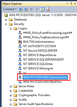 Errors were encountered during the configuration of the Search Service Application. System.Data.SqlClient.SqlException (0x80131904):Windows NT user or group