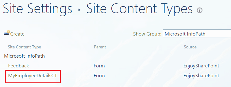infopath forms sharepoint 2013