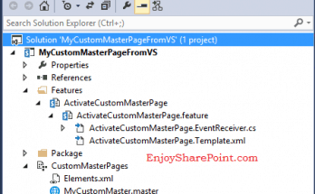 SharePoint 2013 Create custom master page