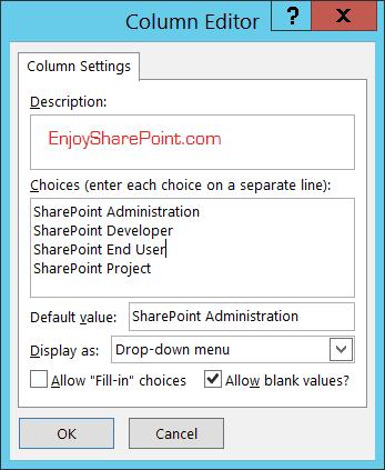 Create SharePoint 2016 List using SharePoint Designer 2013