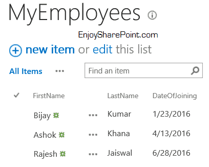 import excel spreadsheet into sharepoint list 2016