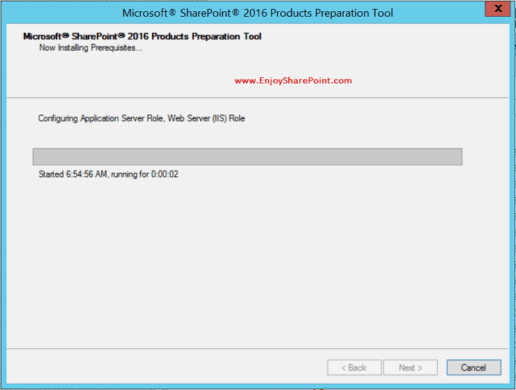 SharePoint 2016 installation step by step guide