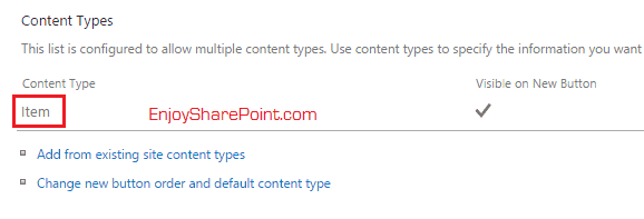 rename title column in content type
