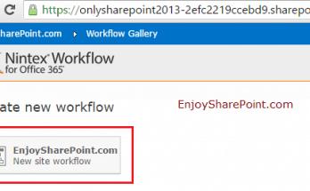 nintex workflow examples