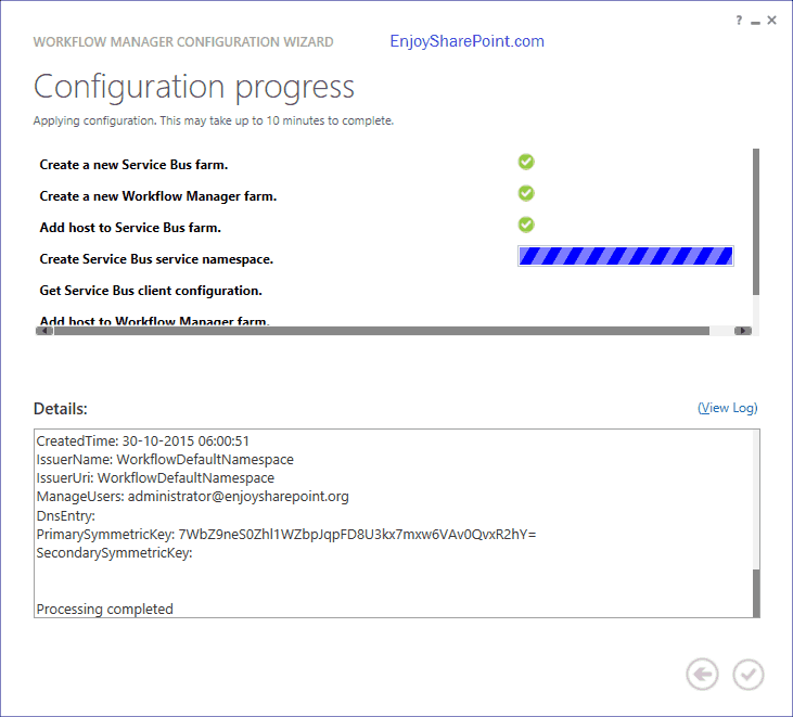 Install workflow manager sharepoint 2013 step by step