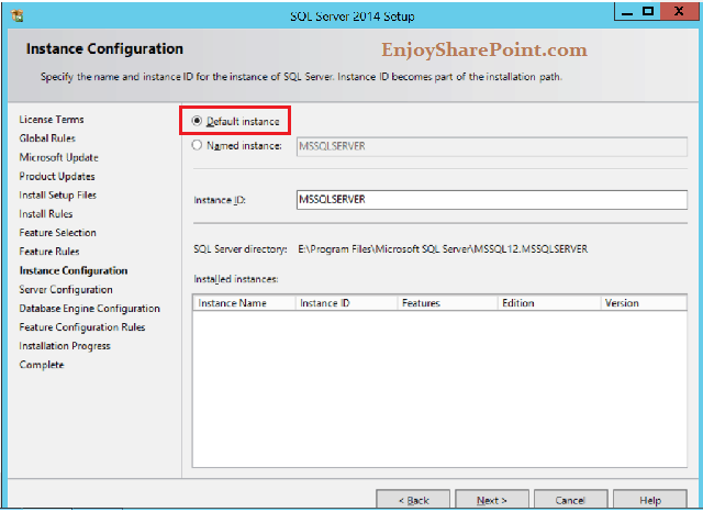 SQL Server 2014 step by step installation guide