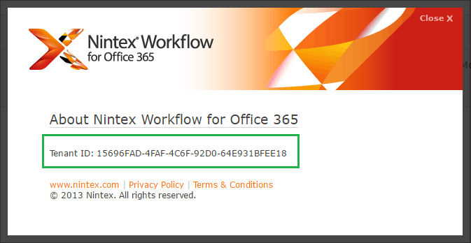 How to get office 365 tenant id for sharepoint online site?