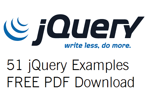 Top 51 jQuery Examples FREE PDF Download - EnjoySharePoint