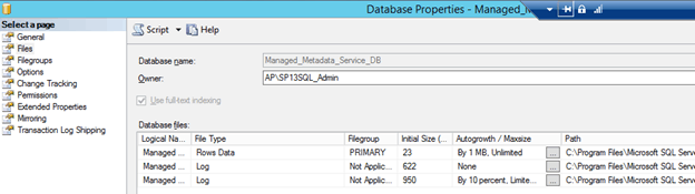 Failed to read from or write to database