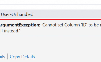 .net cannot set column to be null. please use dbnull instead