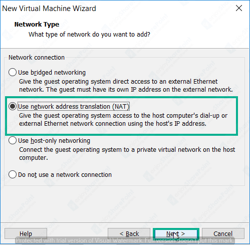 windows server 2016 image not available while creating vm