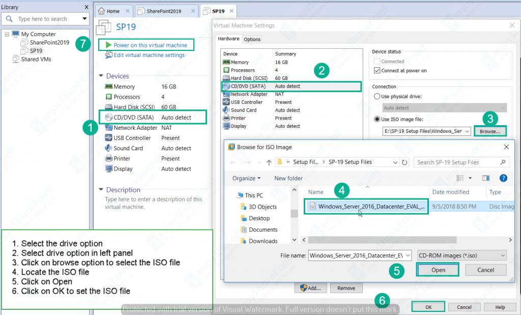windows server 2016 vm