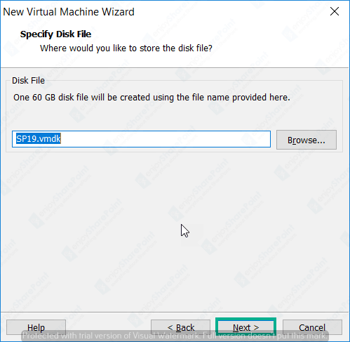 windows server 2016 image not available while creating virtual machine