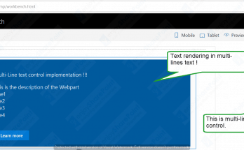 SPFx multiline textbox field rending as single line of text in SharePoint Online