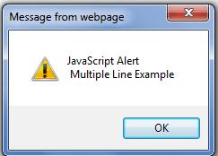 javascript examples: Alert box