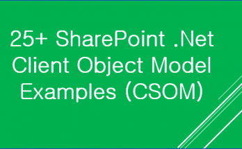sharepoint csom examples