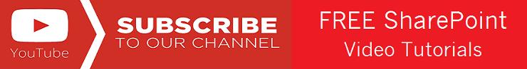 EnjoySharePoint YouTube Channel