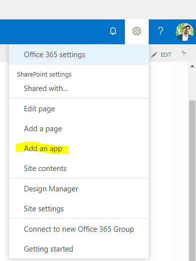 create a sharepoint survey list