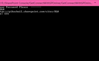 sharepoint console application