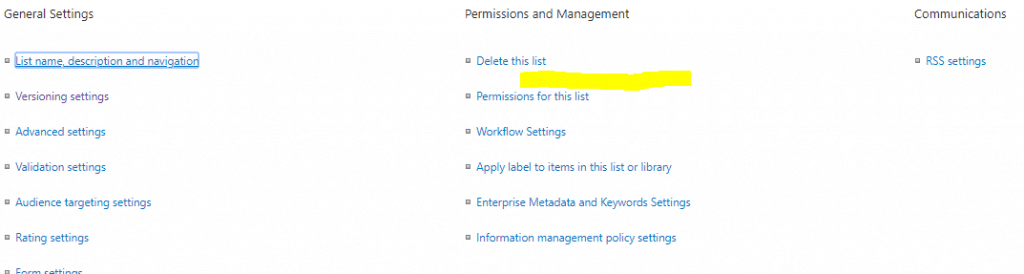 save site as template option missing in sharepoint online