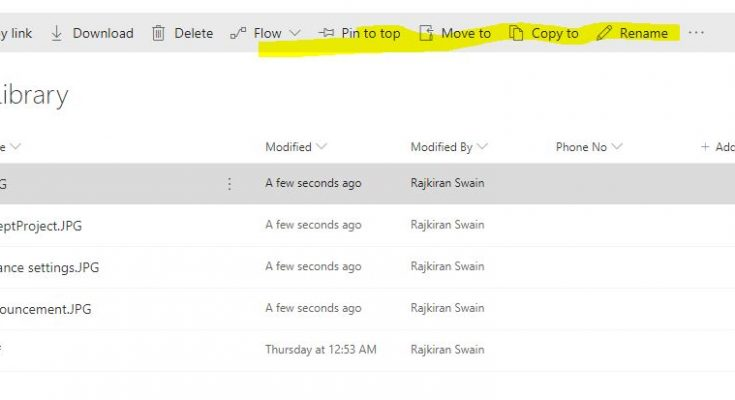 sharepoint new vs classic experience in list and libraries