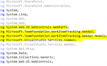 display tfs work items in sharepoint