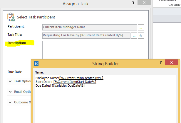 sharepoint designer 2013 leave request workflow