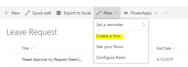 microsoft flow examples