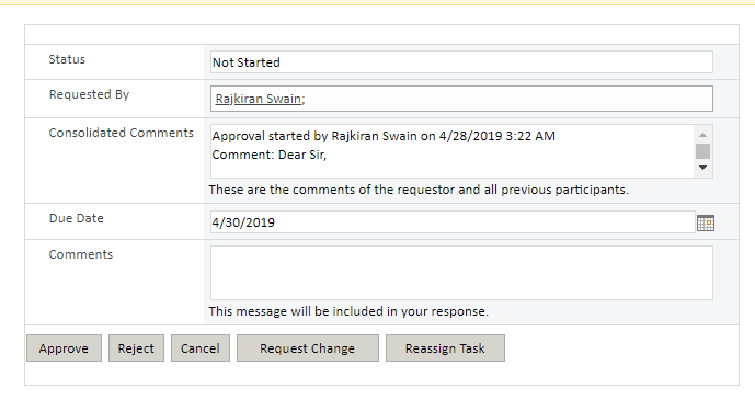 sharepoint leave request approval out of box workflow