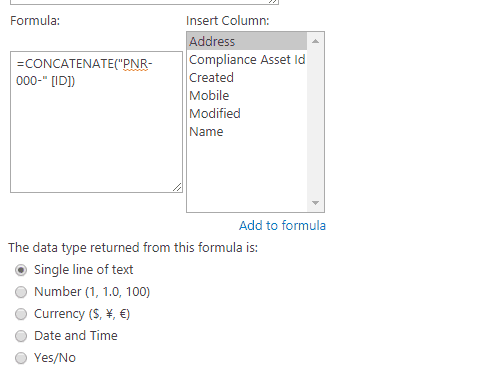auto generate id column in sharepoint 2013 lists