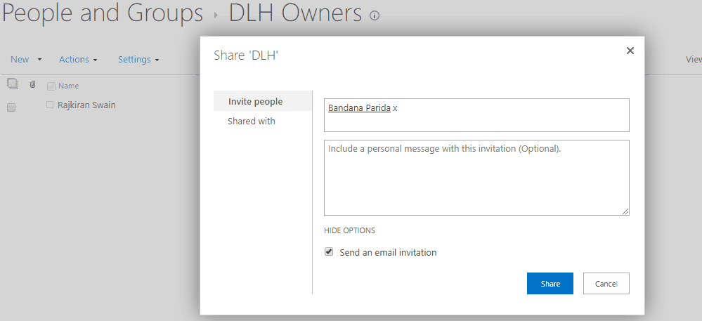 sharepoint site permission settings