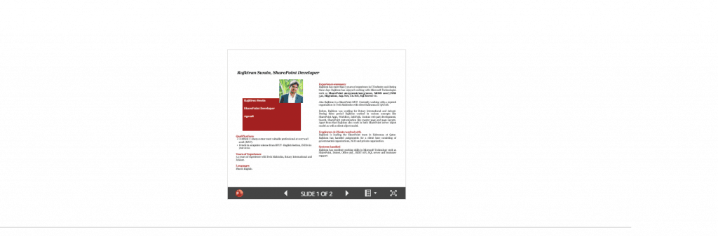 embed powerpoint presentation in sharepoint