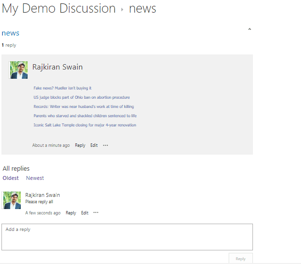 Create discussion board in SharePoint Online/2013/2016 - EnjoySharePoint