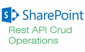 sharepoint rest api crud operations