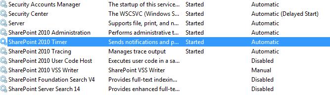 SharePoint solution deployment stuck on deploying