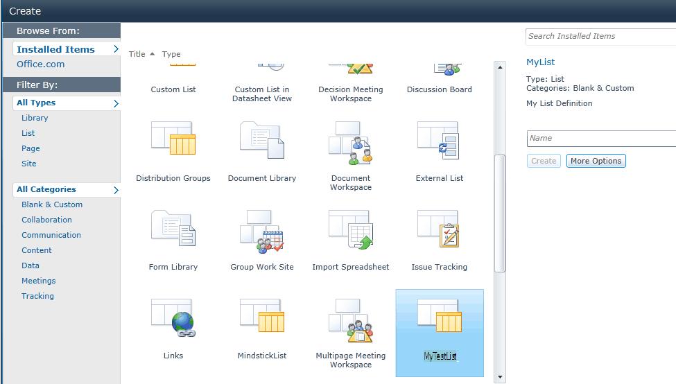 Create SharePoint 2010 custom list definition using visual studio