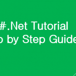 C#.Net tutorial