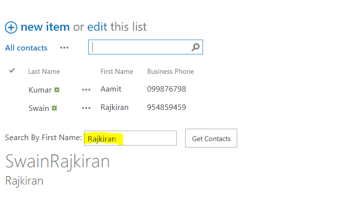 Create a Custom People Directory using REST API in SharePoint
